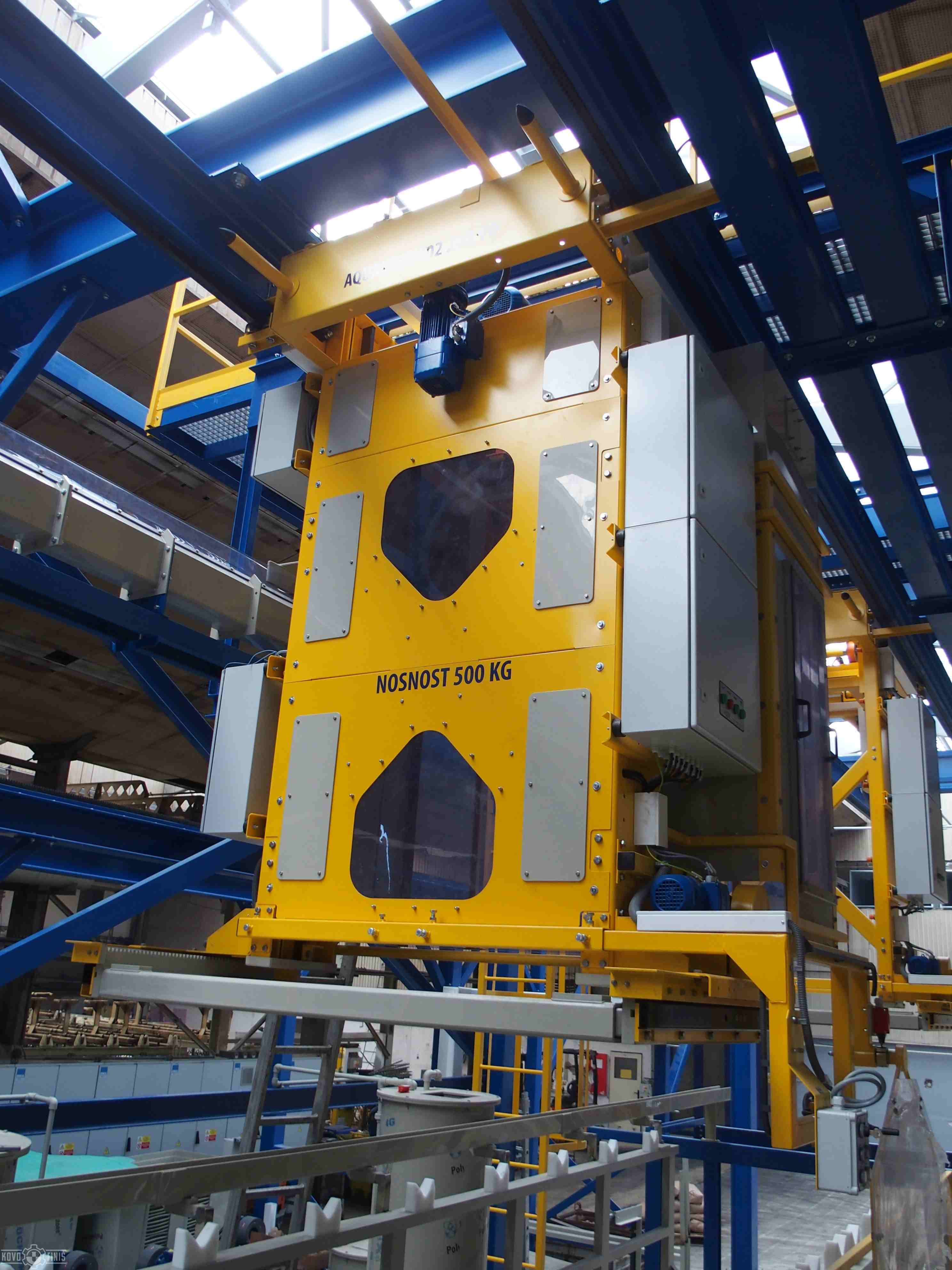 Electroplating lines - KOVOFINIŠ - surface treatment and