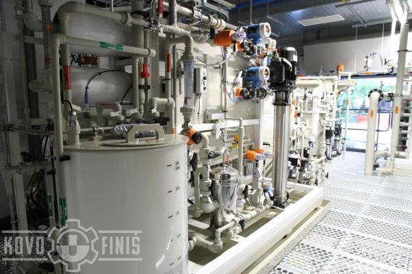 Výroba demivody z ultrafiltrátu