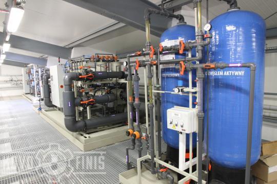Ultrafiltrace a písková filtrace